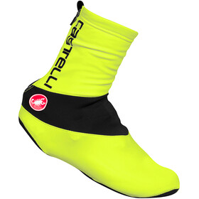 Castelli Diluvio C 16 Shoe Covers yellow fluo